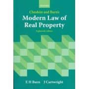 Cheshire and Burn's Modern Law of Real Property by Edward Burn