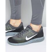 Nike Серые кроссовки для бега Nike Lunar Glide 8 849568-007 - Серый