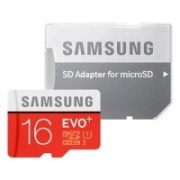 Card memorie Samsung Evo+ MB-MC16DA/EU microSDHC 16 GB clasa 10 UHS-1 + adaptor