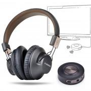 Avantree aptX Low Latency Bluetooth Headphones & Transmitter TV Bundle