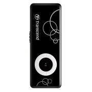 Transcend TS8GMP300K 0p3 8gb Mp300 Mp3 Player With Usb Flash Drive Black