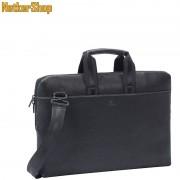 "RivaCase 8931 Orly (PU) slim 15,6"" fekete Notebook táska (1 év garancia)"
