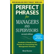 Perfect Phrases for Managers and Supervisors by Meryl Runion
