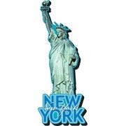 Aquarius Statue of Liberty Funky Chunky Magnet