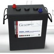 Batería de gel 6 Voltios 240 Amperios Q-Batteries 6GEL-240 311mm x 181mm x 360mm