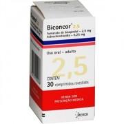 Biconcor 2,5mg 6,25mg c/ 30 Comprimidos