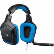 Diadema Logitech Surround Sound Gaming G430 981-000551-Negro