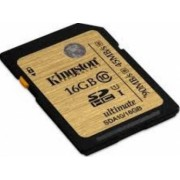 Card memorie Kingston SDHC UHS-I Ultimate 16GB Clasa 10