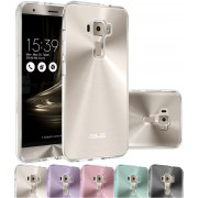 Housse Asus Zenfone 3 Deluxe Zs570kl, Etui Housse Coque De Protection Ultra Fine Silicone Tpu Gel Pour Asus Zenfone 3 Deluxe Zs570kl (Jelly - Transparent)