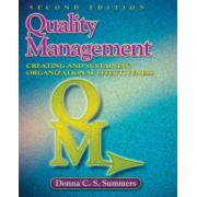 Quality Management by Donna C. S. Summers
