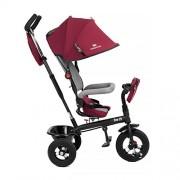 Niño Fuerza Swift 6 in1 Triciclo para niños con accesorios en 2 colores (Rojo)