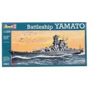Revell 1:1200 Yamato Warship Ship Model Kit Set (05813)