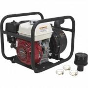 NorthStar Self-Priming Multi-Purpose Chemical/Water Pump - 12,020 GPH, 2 Inch Ports, 160cc Honda GX160 Engine, Black