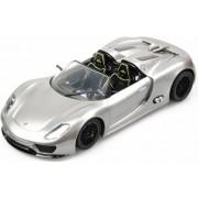 Racetin Porsche 918 Spyder - RC Auto - 1:16 - Zilver