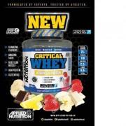 APPLIED NUTRITION Critical Whey tejsavófehérje izolátum és koncentrátum keverék fehérje 2,2 kg Gluténmentes
