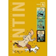 Adventures of Tintin 3 Complete Adventures in 1 Volume: WITH The Seven Crystal Balls AND Prisoners of the Sun by Herge