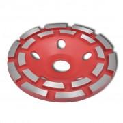 vidaXL Diamantový brusný kotouč - dvouřadý 180 mm