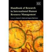 Handbook of Research in International Human Resource Management by Gunter K. Stahl