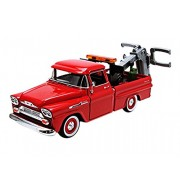 MotorMax - 75340r - Chevrolet - Apache Fleetside Pick Up - Tow truck - Scala 1/24