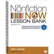 The Nonfiction Now Lesson Bank, Grades 4-8 by Nancy L. Akhavan