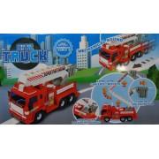 City Truck Műanyag teherautó gyerek játék Fire Engine - No.8966