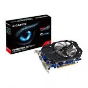Gigabyte AMD Radeon R7 240 GDDR3-2GB DVI-D HDMI D-SUB OC Video Graphics Cards GV-R724OC-2GI REV2.0