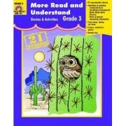 More Read & Understand, Grade 3 by Jo Ellen Moore