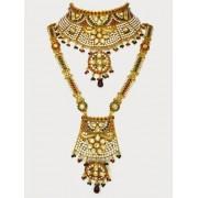 Polki Bridal Necklace Sets - 69954 (SD-12)