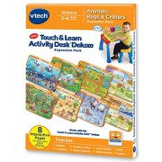 VTech Touch and Learn Activity Desk Deluxe Expansion Pack - Animals, Bugs and Critters