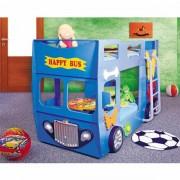Patut Plastiko Happy Bus Tip 2 albastru