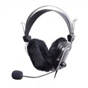 """Casti A4TECH Stereo, microfon pe casca, control volum pe fir, pernute pentru sezonul rece, """"HS- 60"""""""