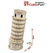 Leaning Tower of Pisa 3D design puzzle
