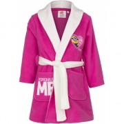 Minions fleece badjas roze