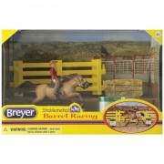 Breyer Western Barrel Racing Set - Brown - 5377