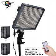 Aputure Amaran HR672W Lampa video cu 672 LED-uri si sistem de control radio
