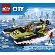 City LEGO 95 PCS Race Boat Brick Box Building Toys by LEGO