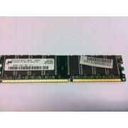 MT - Mémoire - 256 Mo - DIMM 184 broches - DDR - 400 MHz - PC3200