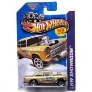 2013 Hot Wheels Hw Showroom - 55 Chevy Bel Air Gasser - Gold