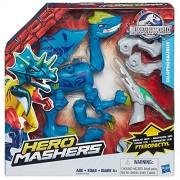Hasbro - Jurassic World héroe mashers Dilophosaurus