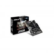 Carte mère ASROCK J3355M Micro ATX avec Processeur Intel Celeron J3355 - 2 x SATA 6 Gb/s - USB 3.0 - 1x PCI-Express 2.0 16x