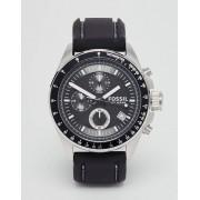 Fossil Decker Silicone Strap Watch Watch CH2573 - Black (Sizes: )