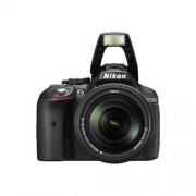 Nikon D5300 noir Reflex 24.2 Mpix + objectif AF-S VR DX 18-55 mm - Wi-Fi