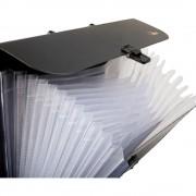 Servieta din plastic cu burduf expandabil 13 compartimente FORPUS
