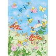 Idealdecor Wallpaper Fairy Tales - Papel pintado fotográfico (4 piezas)