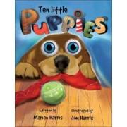 Ten Little Puppies by Jim Harris