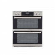 AEG NC4013021M Double Built Under Electric Oven - Stainless Steel