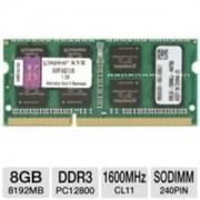 Memorijski modul SODIMM 8GB 1600MHz Kingston DDR3 KVR16S11/8 KVR16S11/8