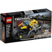 Конструктор Лего Техник - Мотоциклет за каскади - LEGO Technic, 42058