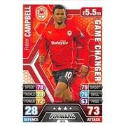Match Attax Extra 2013/2014 Fraizer Campbell Game Changer 13/14