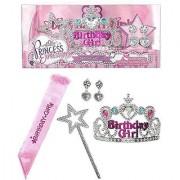 Princess Birthday Girl Set Pink